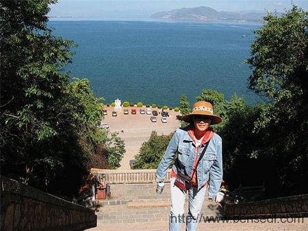 登洱海团山公园图片