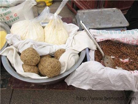 青岛土法制作的霉豆豉
