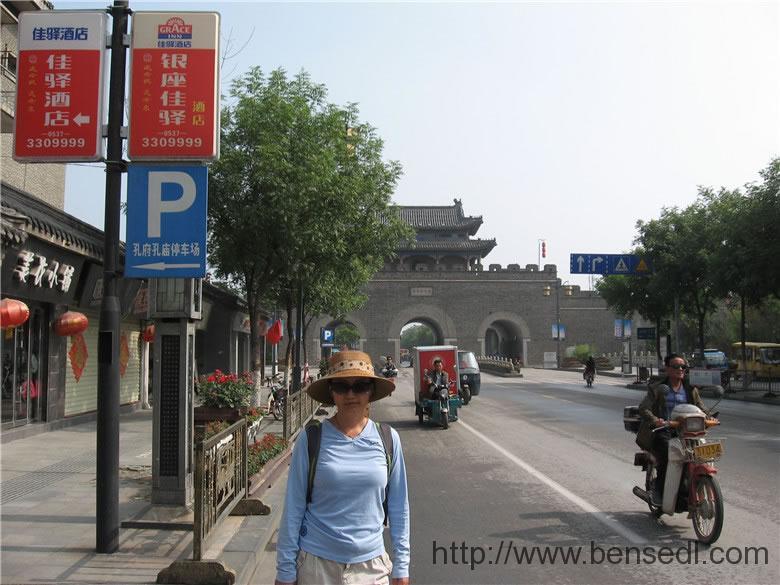 曲阜明代故城城门图片1