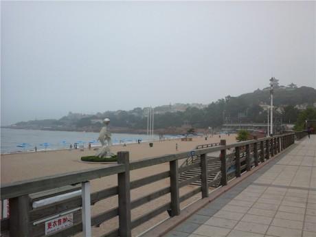 青岛第一海水浴场图片2
