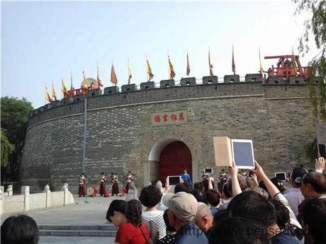 孔府孔庙城墙图片