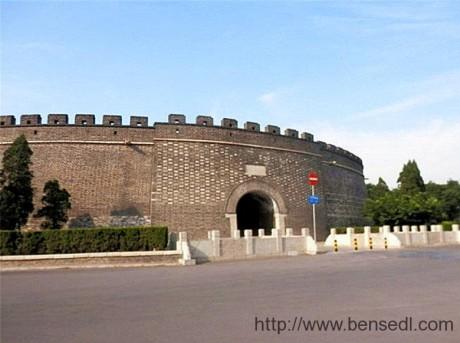 曲阜明代故城城门图片