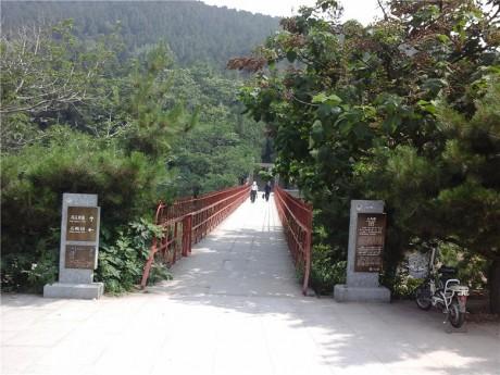 泰山天外村大众桥图片