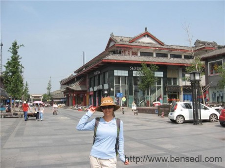 五马祠商业街图片
