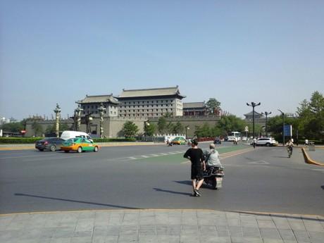 西安永宁门南门图片