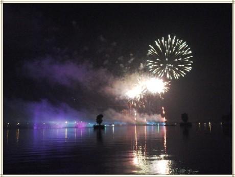 弥勒红河水乡音乐喷泉图片9
