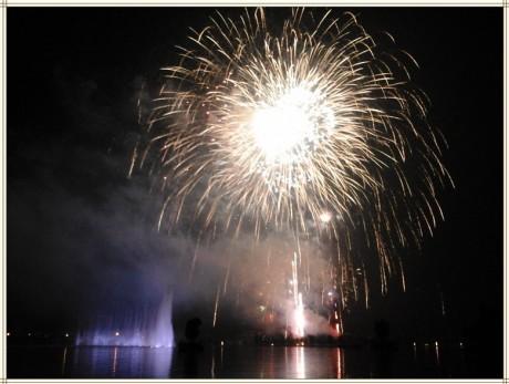弥勒红河水乡音乐喷泉图片1