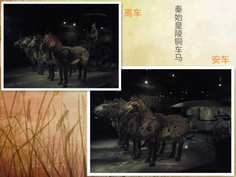 秦始皇铜车马图片
