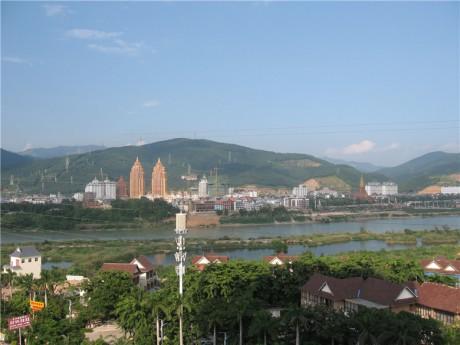 西双版纳景洪澜沧江景图片