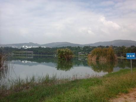 弥勒湖泉生态园印云湖图片1