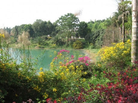 弥勒湖泉生态园印云湖图片2