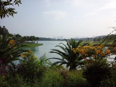 弥勒湖泉生态园印云湖图片3