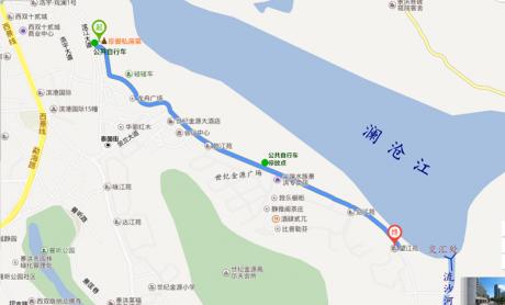 景洪骑行地图