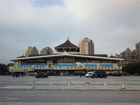 景洪龙舟广场图片