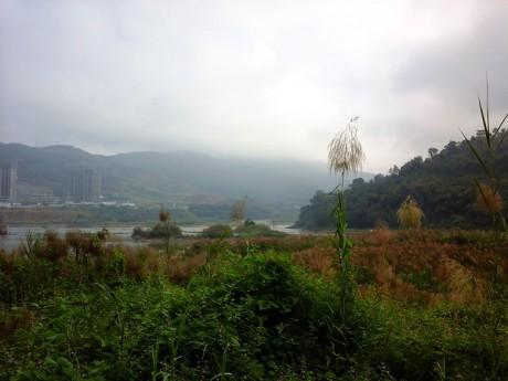 景洪澜沧江流沙河交汇处图片1
