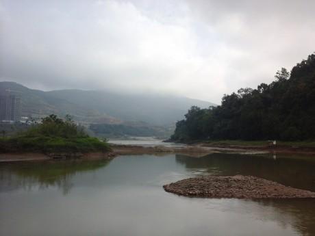 景洪澜沧江流沙河交汇处图片3