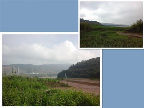 景洪澜沧江流沙河交汇处图片2