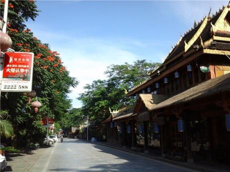 景洪傣江南酒吧一条街图片