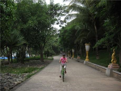 景洪傣泐金湾骑行图片