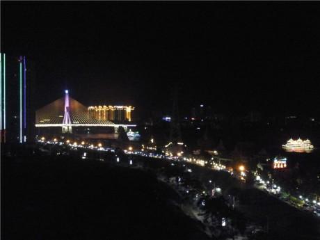 景洪夜市夜景图片