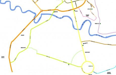 景洪公共自行车分布图2