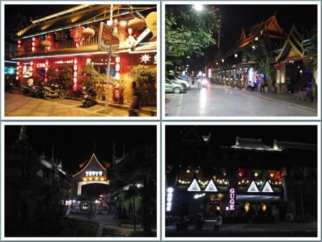 景洪酒吧夜景图片