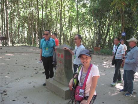 中缅边境界碑图片