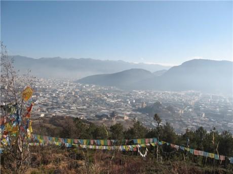 香格里拉建塘镇图片