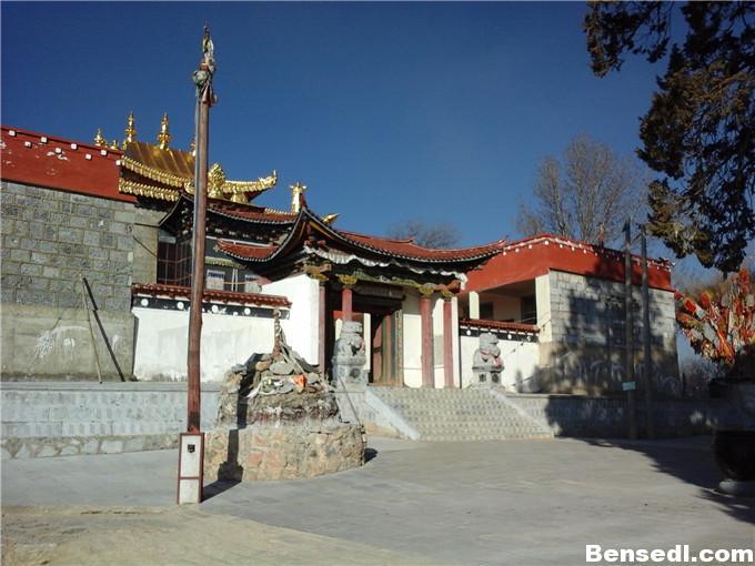 香格里拉百鸡寺图片5