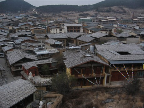 独克宗古城建筑图片6