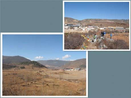 香格里拉松赞林景区小街子村图片2
