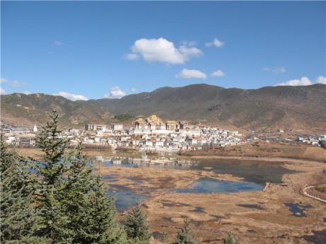 香格里拉松赞林寺图片2