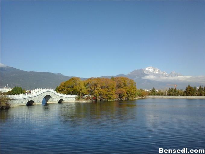 丽江清溪水库图片4