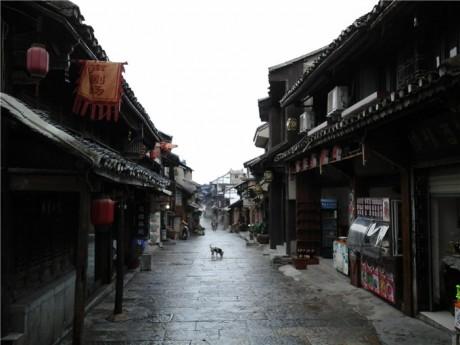 青岩古镇西明清街图片
