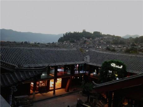 丽江古城大研古镇夜景图片1
