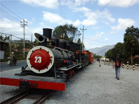 蒙自碧色寨火车站图片3