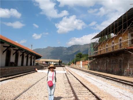 蒙自碧色寨火车站图片4