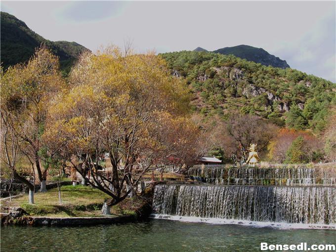 丽江玉水寨自然神图片