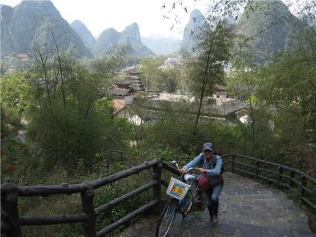 阳朔遇龙河景区状元步道图片1