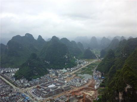阳朔县城全景图片4