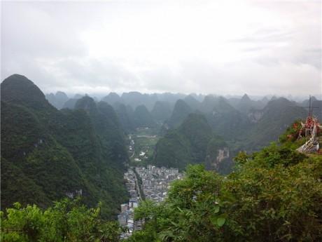 阳朔县城全景图片5