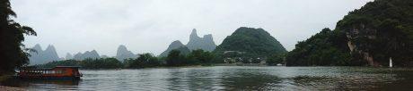 阳朔福利镇码头全景图片