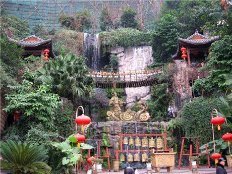重庆洪崖洞景区洪崖滴翠图片