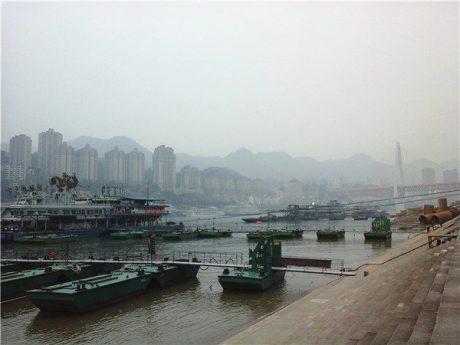 重庆朝天门码头图片