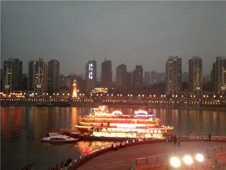 重庆朝天门夜景图片1