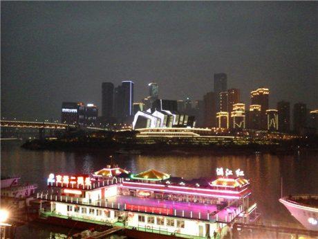 重庆朝天门夜景图片3