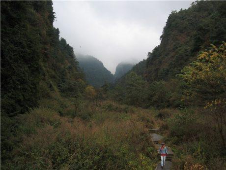 大理苍山大峡谷图片