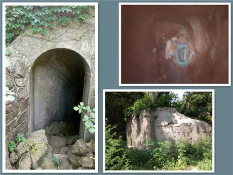 青岛石门山军事山洞图片