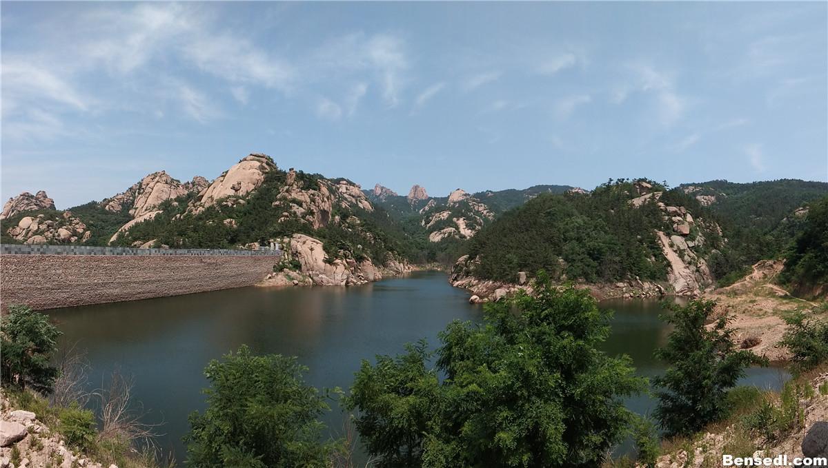 青岛石门山风景图片4