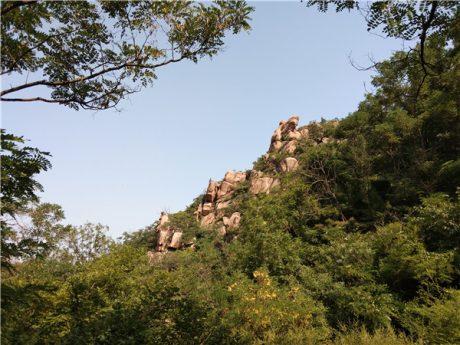 青岛石门山风景图片1
